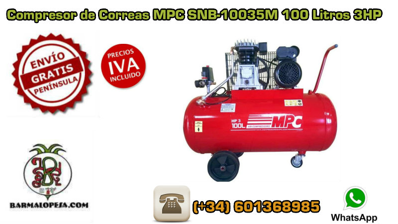 COMPRESOR-DE-CORREAS-MPC-SNB-10035M-3HP-100-Litros