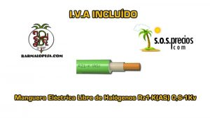 Manguera-electrica-libre-de-halógenos-1X25-Rz1-K(AS) 0,6-1Kv