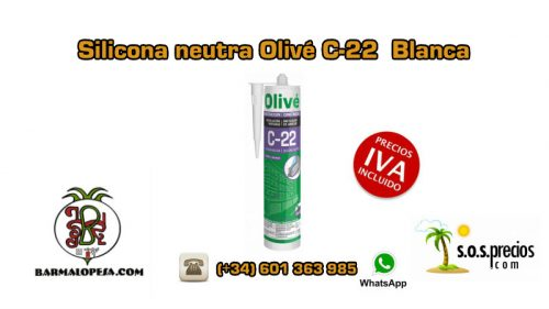 silicona-neutra-olivé-c-22-blanca