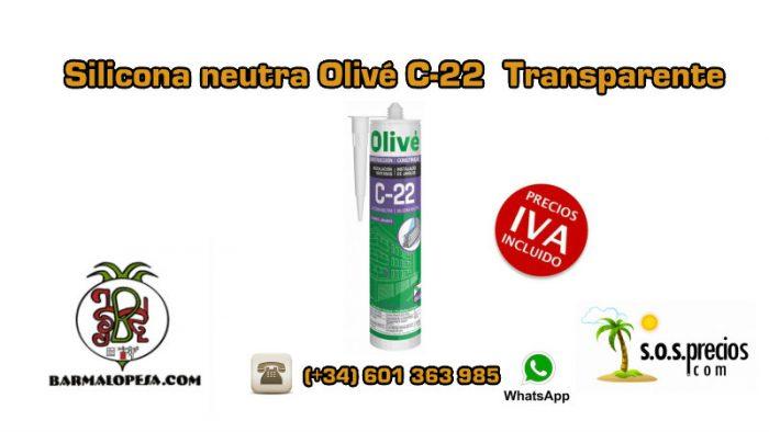 silicona-neutra-olivé-c-22-transparente