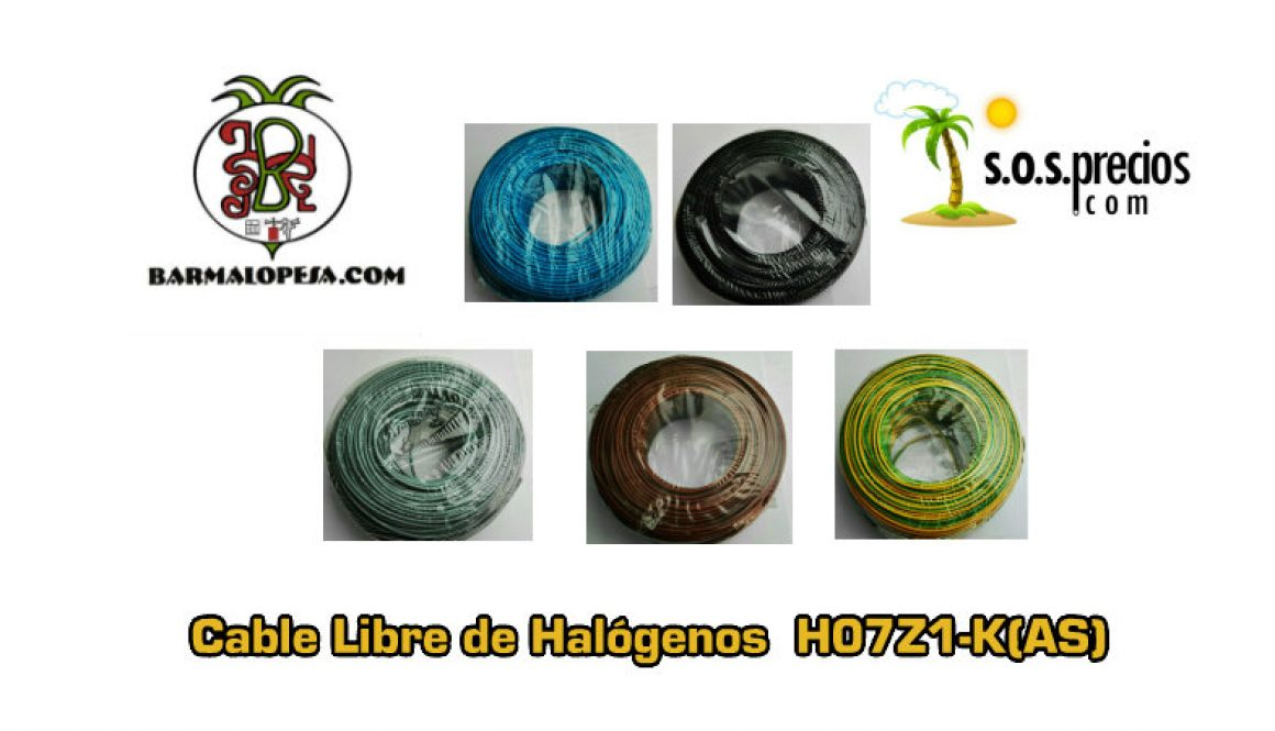 cable electrico libre de halogenos