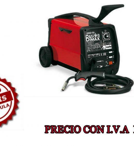 Máquina de soldar con hilo MIG-MAG Telwin Bimax 152 cód. 821011