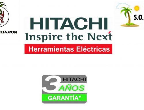 ¿Cuáles son las garantías de Hitachi?