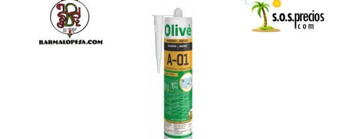silicona de acuarios olive A01