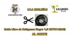 cable-Libre-de-Halógenos-al-corte-negro-1,5-H07Z1-K(AS)