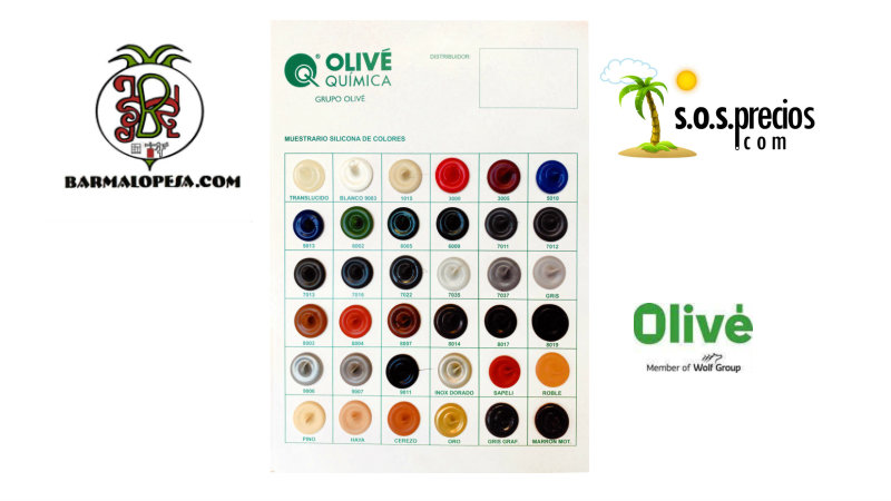 silicona de colores 1