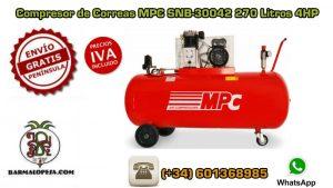 Compresor-de-Correas-MPC-SNB-30042-270-Litros-4HP