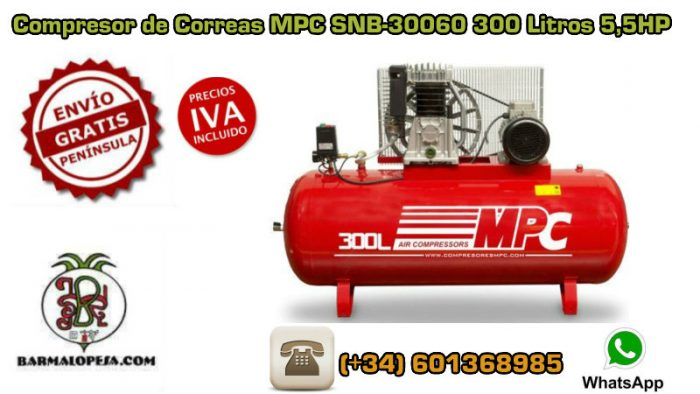 Compresor-de-Correas-MPC-SNB-30060-300-Litros-55HP