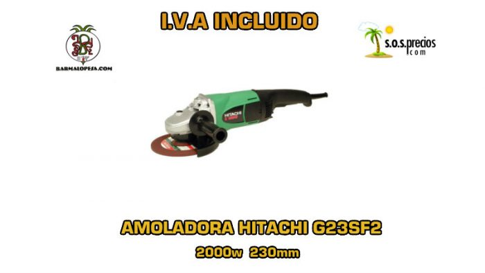 Amoladora Hitachi G23SF2 2000w 230mm