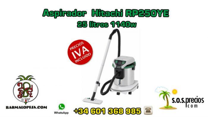 Aspirador Hitachi RP250YE 25litros 1140w