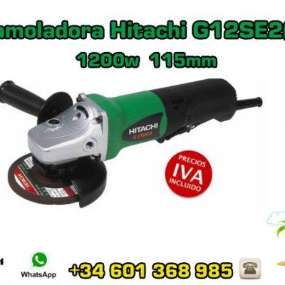Mini-amoladora Hitachi G12SE2(S) 1200w 115mm