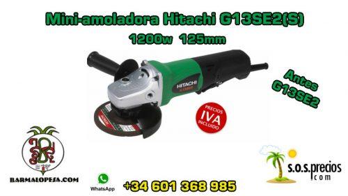 Mini-amoladora Hitachi G13SE2(S) 1200w 125mm