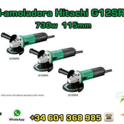 Mini-amoladora Hitachi G12SR4(S) 730w 115mm