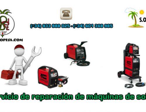 Servicio de reparación de máquinas de soldar