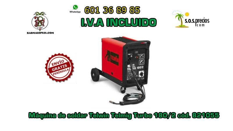 Máquina-de-soldar-Telwin-turbo-180/2-cód. -821055