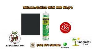 silicona-acética-olivé-600-negra