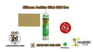 silicona-acética-olivé-600-oro