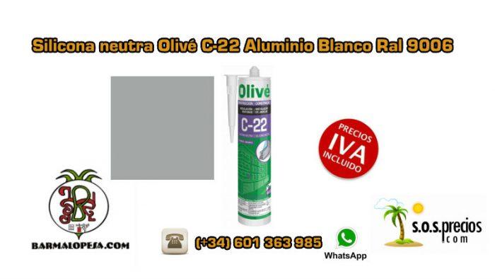 silicona-neutra-olivé-c-22-aluminio-blanco-ral-9006