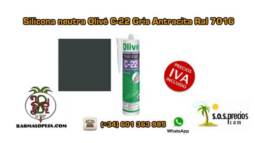 silicona-neutra-olivé-c-22-gris-antracita-ral-7016