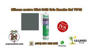 silicona-neutra-olivé-c-22-gris-basalto-ral-7012
