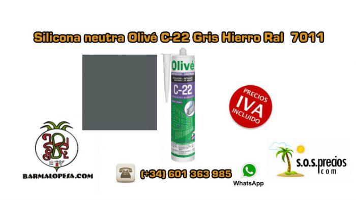 silicona-neutra-olivé-c-22-gris-hierro-ral-7011