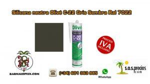 silicona-neutra-olivé-c-22-gris-sombra-ral-7022
