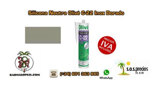 silicona-neutra-olivé-c-22-inox-dorado