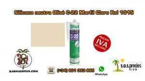 silicona-neutra-olivé-c-22-marfil-claro-ral-1015