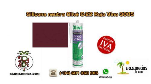 silicona-neutra-olivé-c-22-rojo-vino-ral-3005
