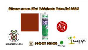silicona-neutra-olivé-c-22-pardo-cobre-ral-8004