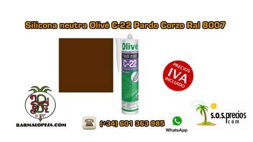 silicona-neutra-olivé-c-22-pardo-corzo-ral-8007