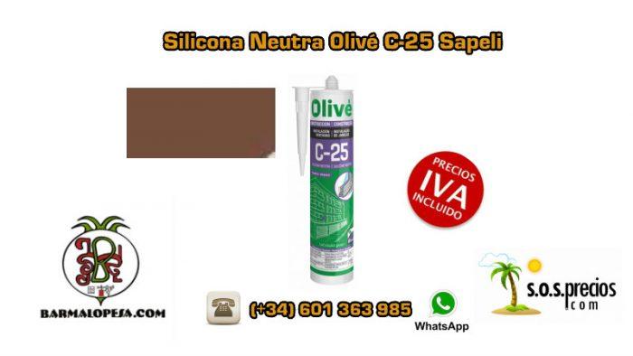 silicona-neutra-olivé-c25-sapeli
