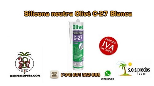 silicona-neutra-olivé-c27-blanca