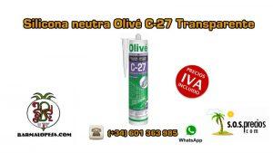 silicona-neutra-olivé-c27-transparente