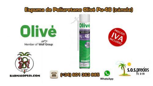 Espuma-de-Poliuretano-Olivé-Pu-46-Cánula