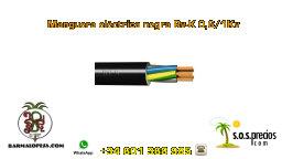 Manguera eléctrica negra Rv-K 0,6/1Kv