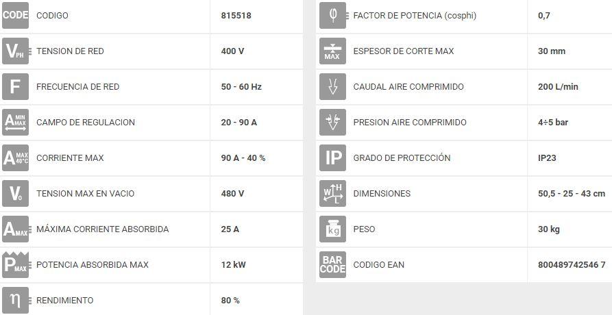 máquina-de-corte-por-plasma-telwin-superior-plasma-90-hf-815518-2