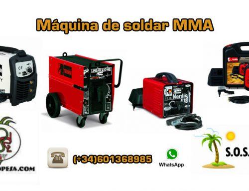 Máquina de soldar MMA