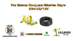 Por Metros Manguera Eléctrica Negra RV-k 06/1KV