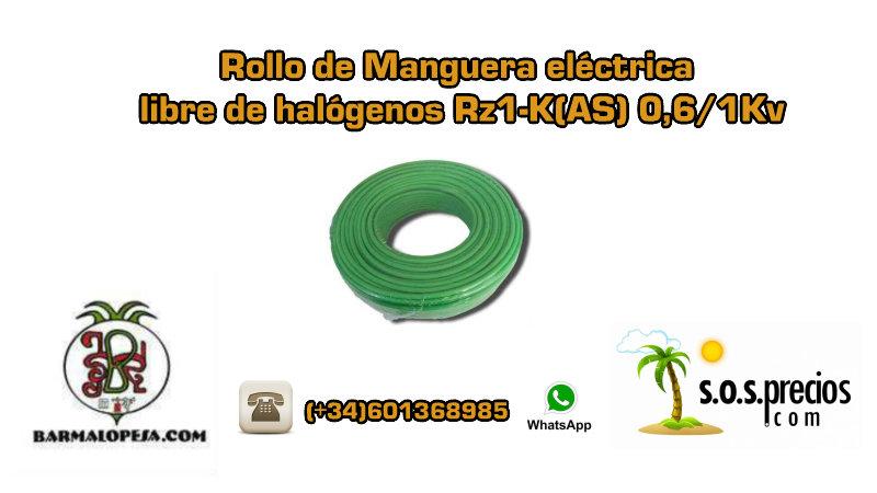 rollo-de-manguera-eléctrica-libre-de-halógenos-rz1-k(as)-0,6-1Kv