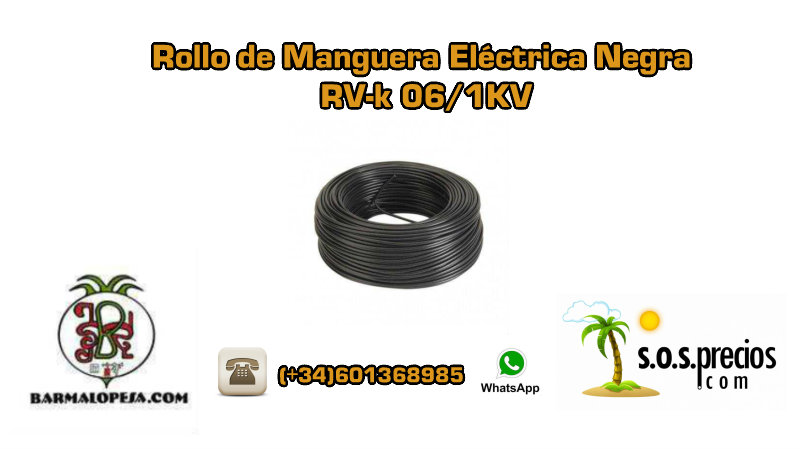 rollo-de-manguera-eléctrica-negra-rv-k-06-1KV