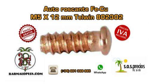 auto-roscante-fe-cu-m5-x-12-mm-telwin-802302