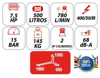 Características-del-Compresor-insonorizado-Mpc-Mute-500-15B