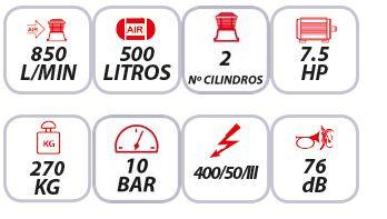 Características-del-compresor-de-correas-Mpc-SNB-50075