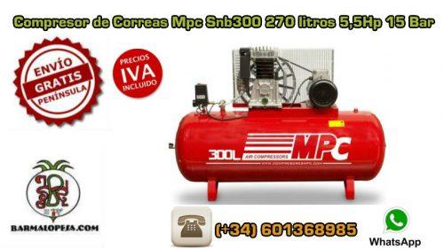 Compresor-de-Correas-Mpc-Snb300-270-litros-55Hp-15-Bar