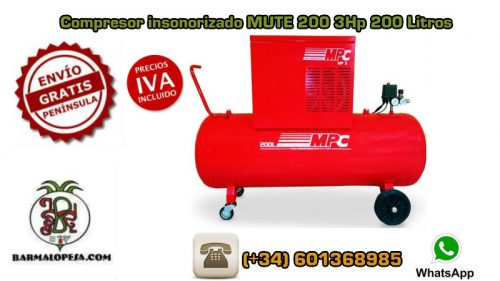 Compresor-insonorizado-Mpc-MUTE-200-200-Litros-3Hp
