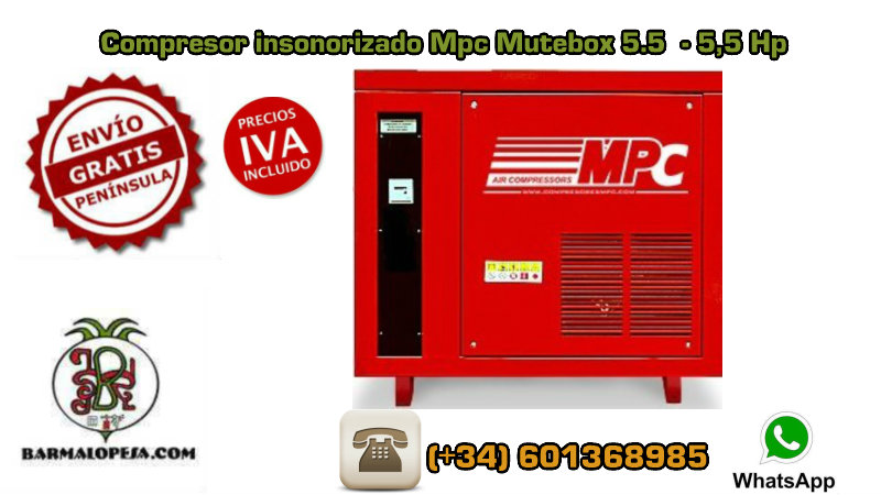 Compresor-insonorizado-Mpc-Mutebox-5.5