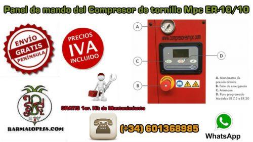 panel-de-control-del-compresor-de-tornillo-Mpc-ER-10-10-10-Hp-10-bares