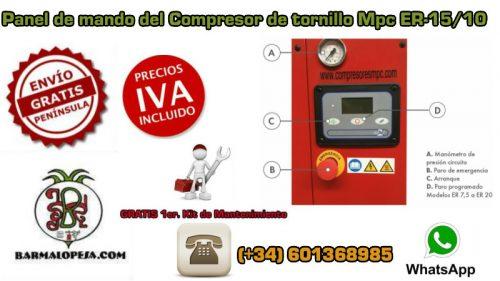 panel-de-mando-del-compresor-de-tornillo-Mpc-ER-15-10-15-Hp-10-bares