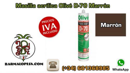 Masilla-acrílica-Olivé-D-70-Marrón
